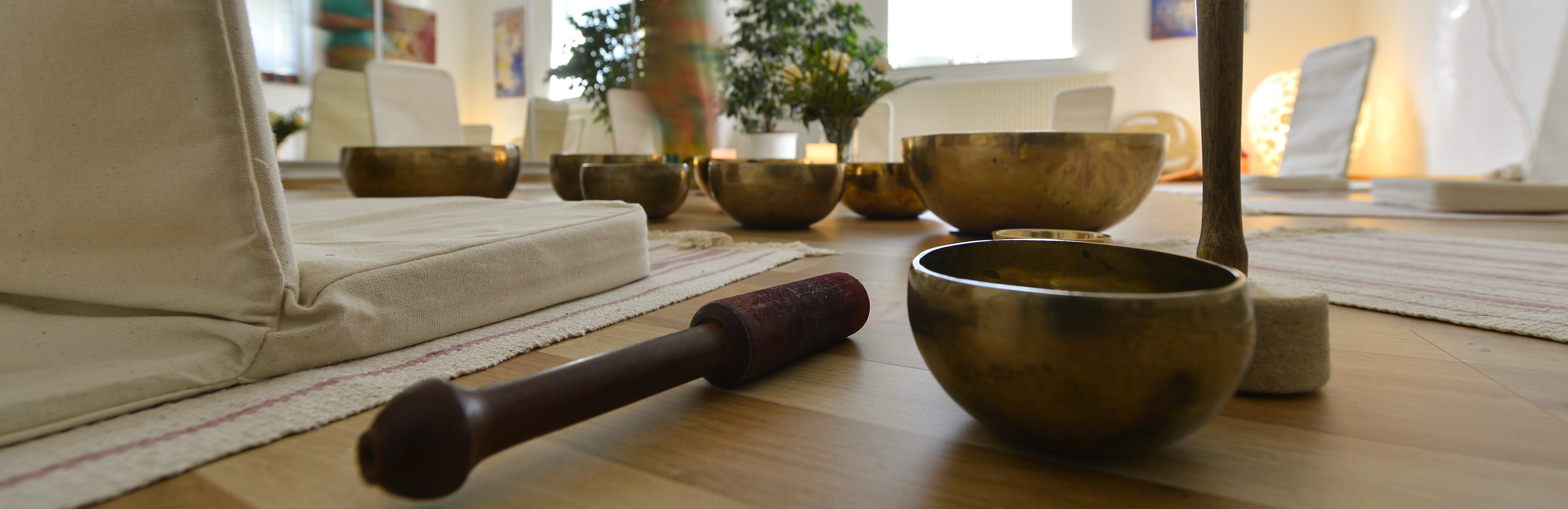 Klangschalen Meditation